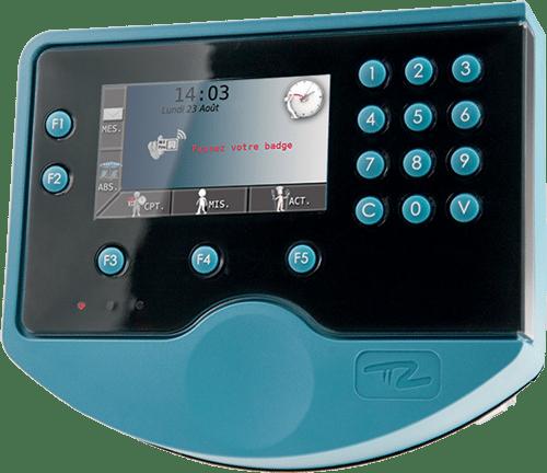 Badgeuse Pointeuse - Module de gestion des temps de présence et pointage de Fastilog, logiciel RH gestion des temps