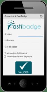 Pointage via mobile - Module de gestion des pointages et temps de présence de Fastilog logiciel RH